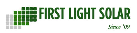 First Light Solar, LLC logo