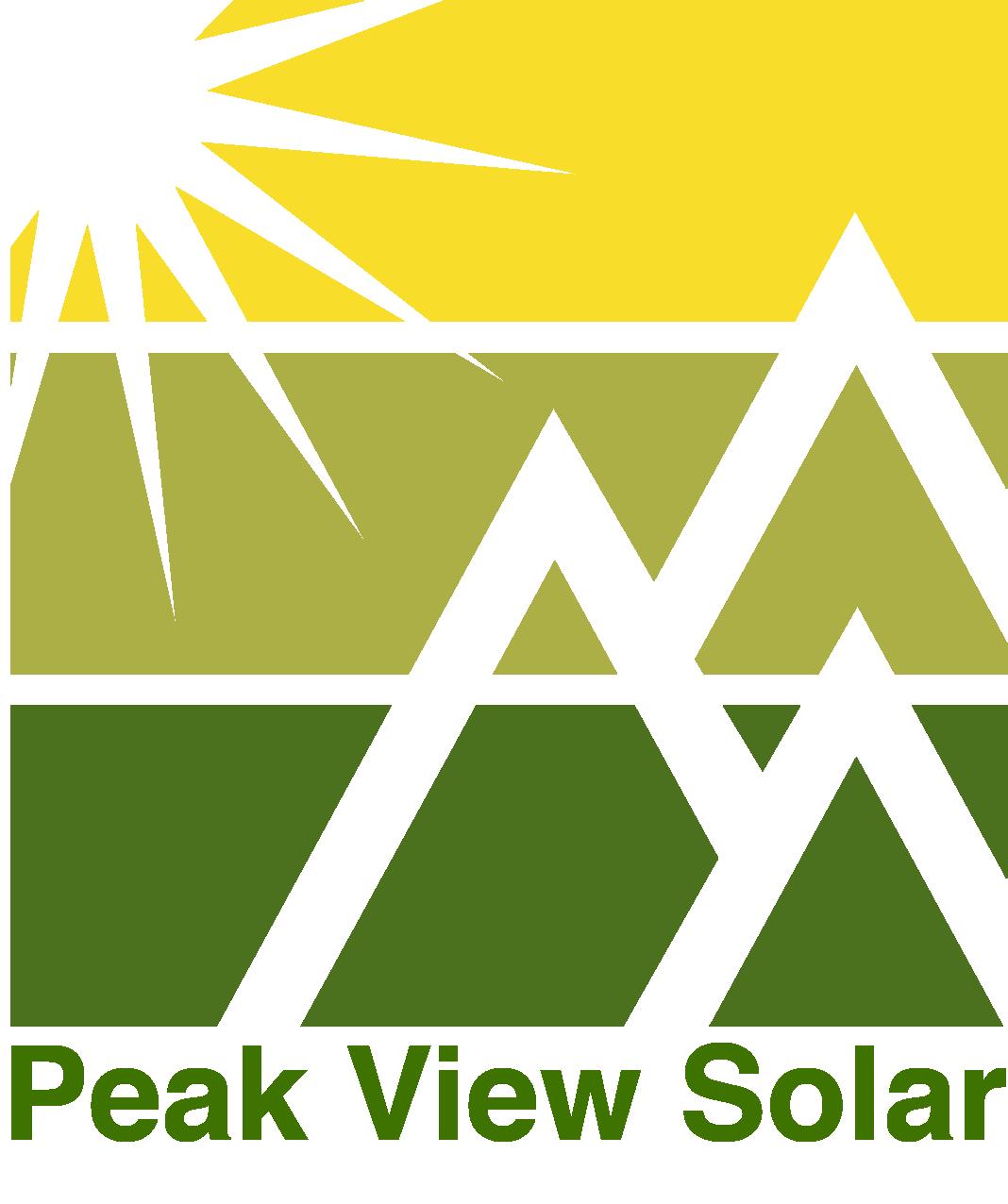 Peak View Solar logo