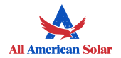 All American Solar, LLC logo