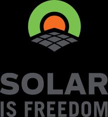 Solar Is Freedom logo