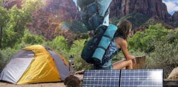 solar panels for camping featured image