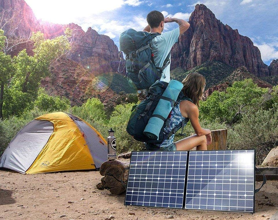 7 Best Solar Panels for Camping of 2019 (Review)
