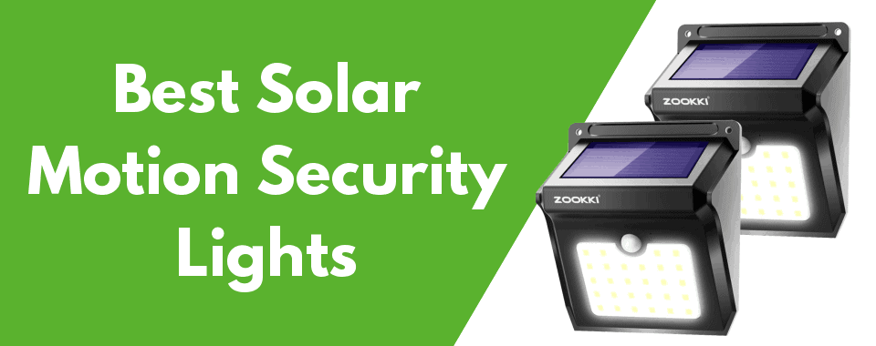 10 Best Solar Ed Motion Security Lights Of 2019 Review