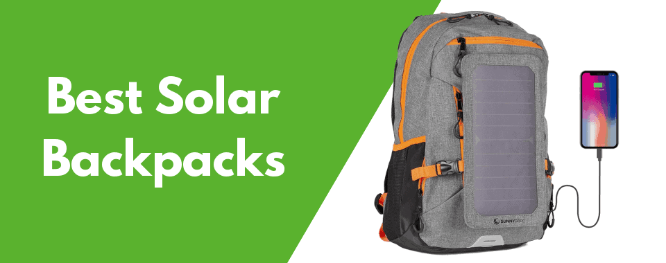 117f3587648e 10 Best Solar Backpacks of 2019 (Review)