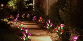 solar powered garden lights featured image