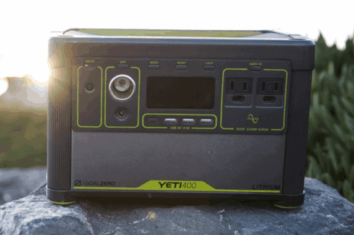 goal zero yeti 400 lithium featured image