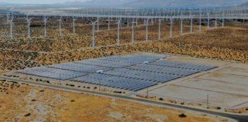 large solar farm in california