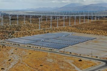 large solar farm in california