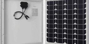 renogy 50 watt 12 volt monocrystalline solar panel featured image