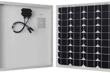 renogy 50 watt 12 volt monocrystalline solar panel featured image