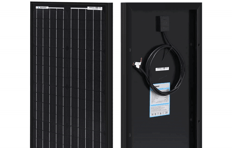Renogy 30 Watt 12 Volt Monocrystalline Solar Panel featured image