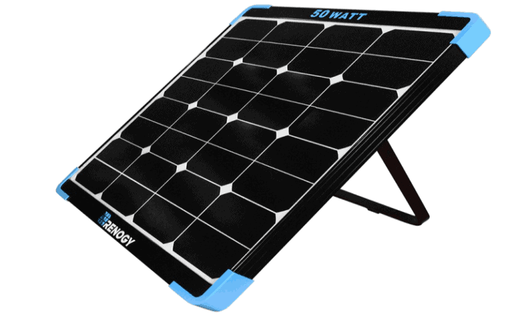 Renogy 50 Watt Mini Eclipse Monocrystalline Solar Panel