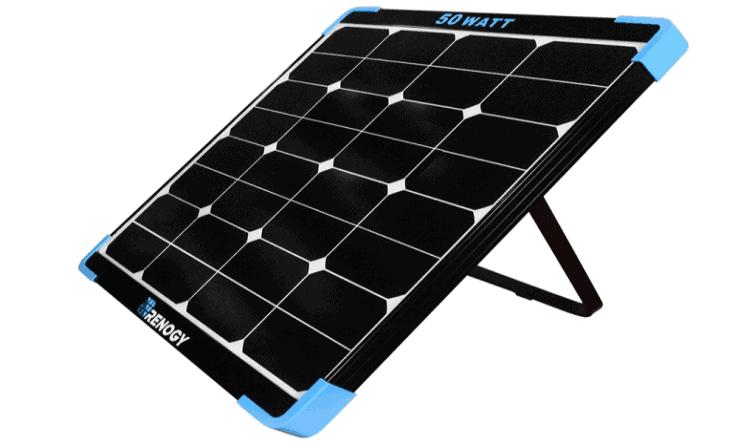 Renogy 50-Watt Mini Eclipse Monocrystalline Solar Panel featured image