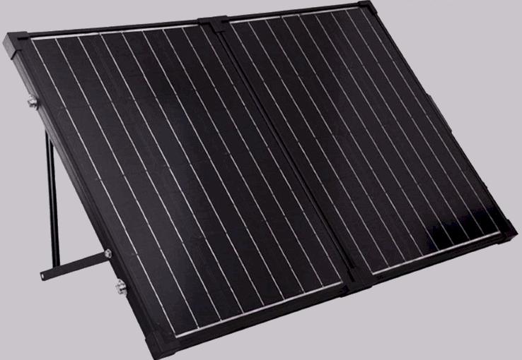 renogy 100 watt 12 volt monocrystalline foldable solar suitcase featured image