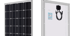 renogy 100-watt 12 volt monocrystalline solar panel featured image