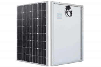 renogy 160 watt 12 volt monocrystalline solar panel featured image