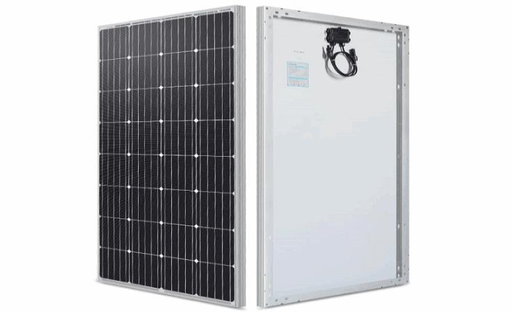 renogy 160 watt 12 volt monocrystalline solar panel featured image