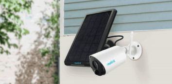 solar powered security cameras featured image