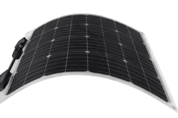 renogy 50 watt 12 volt flexible monocrystalline solar panel featured image