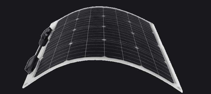 renogy 50 watt 12 volt flexible monocrystalline solar panel featured image
