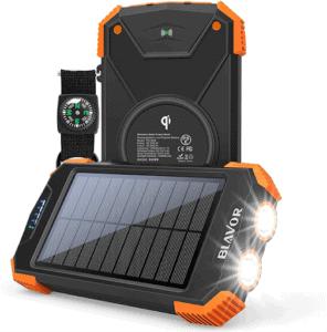 BLAVOR - Portable Solar Power Bank