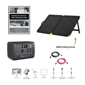 Bluetti EB55 Nomad Kit