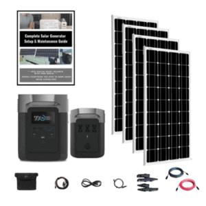 EcoFlow Delta Solar Panel Quad kit