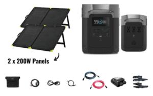 EcoFlow Delta 1800 Nomad Kit
