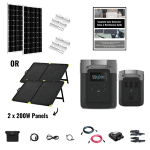 EcoFlow Delta 1800W Nomad Kit