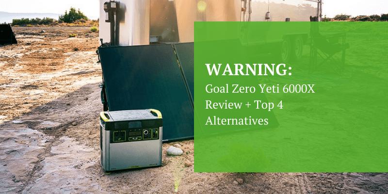 Goal Zero Yetti 6000 Portable Power Station