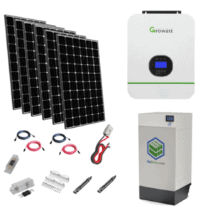 Growatt 3,000W HBK-5.1 All-in-One Off-Grid Solar Kit