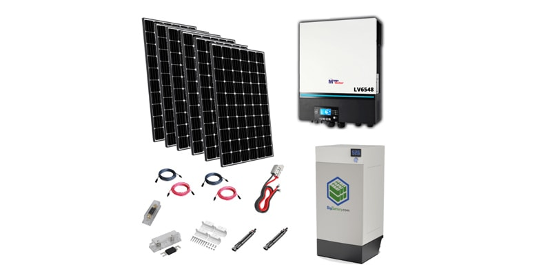 HBK Complete All-in-One Solar Kit