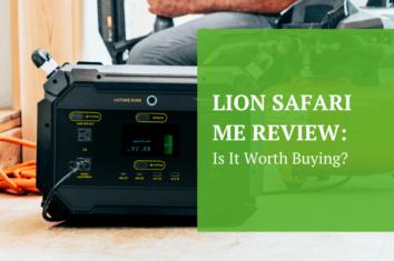 Lion Safari Me Portable Power Generator
