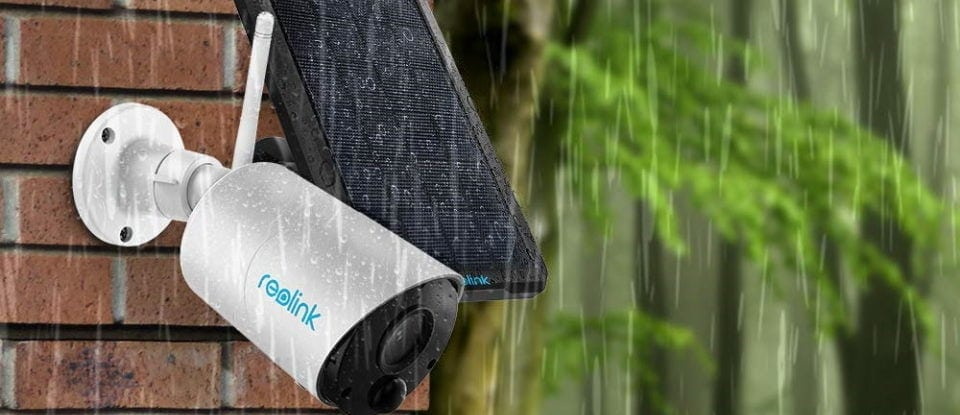 Reolink Argus Solar Powered Security Camera
