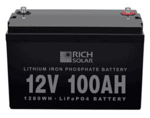 Rich solar battery