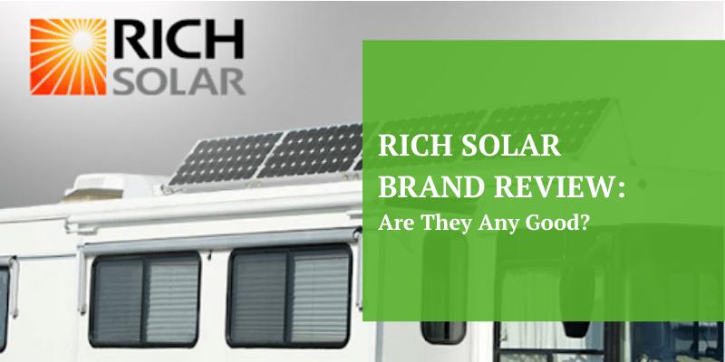 Rich solar