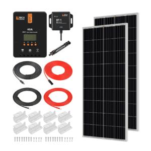 Rich solar panel kit