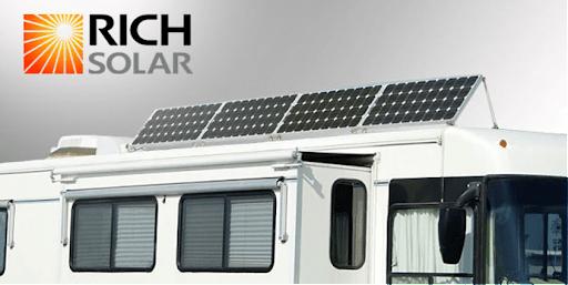 Rich solar panels