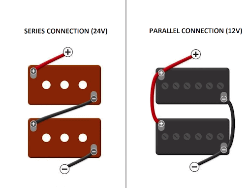 Series and Parallel Connection for batteries