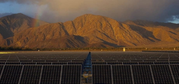 image of borrego springs solar plant