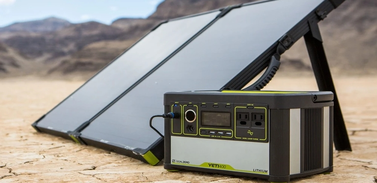 image showing a typical solar generator