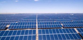 several solar microgrids together in the desert