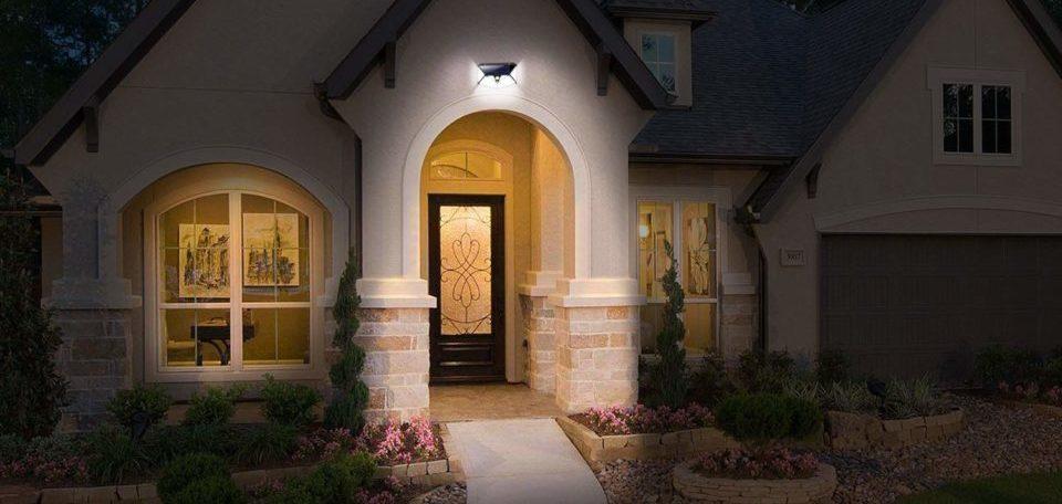 20 LED Solar Power  Motion Sensor Light Outdoor Garden Security Wall Lamp UK