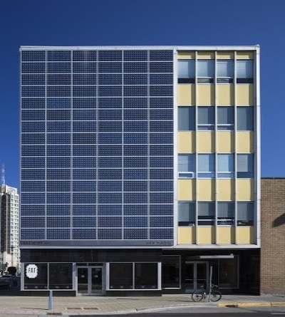 the energy retrofit for a five story office building